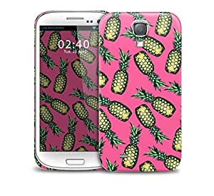 pineapples pink Samsung Galaxy S4 GS4 protective phone case by icecream design