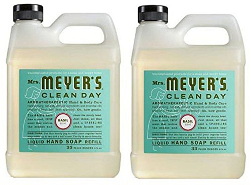 Mrs. Meyers Liquid Hand Soap Refill, 33 Oz