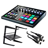 : Native Instruments Maschine MK2 Groove Production Studio, Black. W/ Laptop Stand + 2 Midi cables.