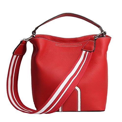 Girl LF femme Sac à Rouge fashion en 182 Sac épaule E Sac bandoulière main portés cuir F5zdqn