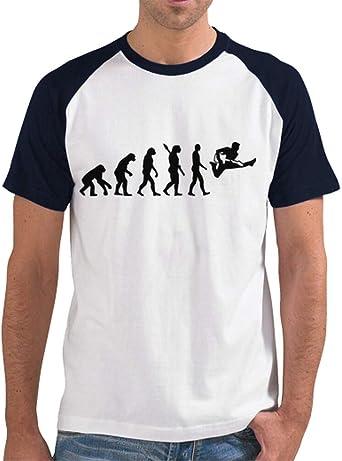 latostadora - Camiseta Guitarra Evolucion para Hombre Azul ...
