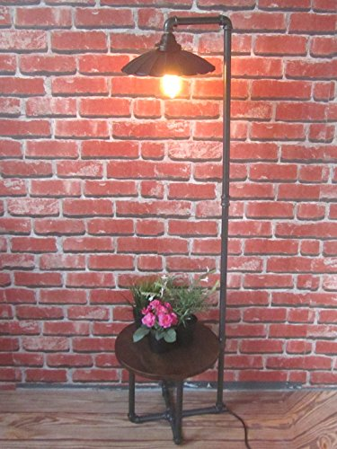 INDUSTRIAL RETRO VINTAGE URBAN METAL PIPE FLOOR LAMP - Hurricane Floor Lamps