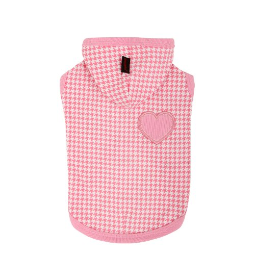 PUPPIA Authentic Neogen Pet Hoodie, X-Small, Pink by Puppia