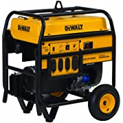 DeWalt PD123MHB008, 11700 Running Watts/14000 Starting Watts, Gas Powered Portable Generator