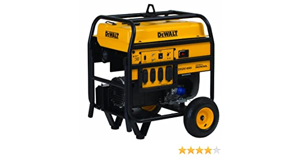 amazon com dewalt pd123mhb008 11700 running watts 14000 starting rh amazon com  dewalt dg6000 generator wiring diagram