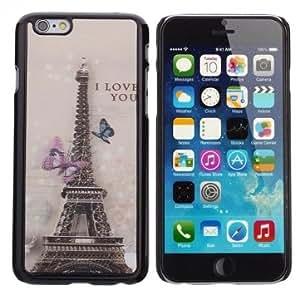 PC Case Protection Paris Eiffel Tower 3D Back Cover For iPhone 6 -Motif