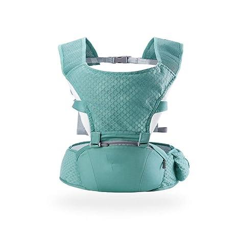 Beatalvy Portabebé con Asiento de Cadera, portabebés multifuncionales Ajustables, 360 Mochilas ergonómicas para bebés