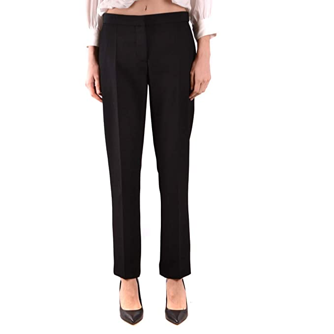 f4421444d21c1 BURBERRY Trousers Black at Amazon Women's Clothing store