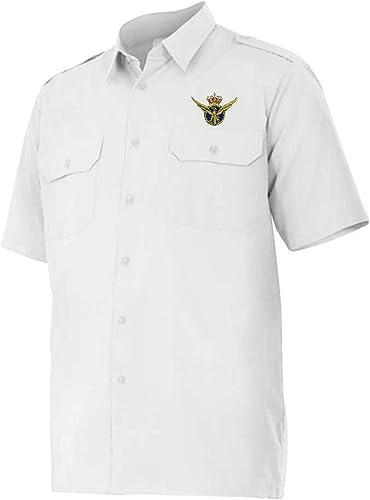 Piloto Aviación ATPL – CPL (3 GALONES) - Camisa Manga Corta con galoneras: Amazon.es: Ropa y accesorios