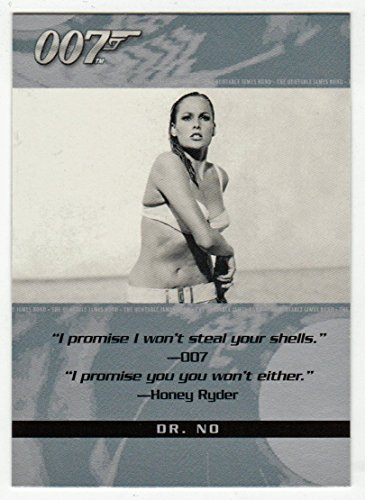 Honey Ryder - Dr. No (Trading Card) James Bond 007 - The Quotable # 25 Rittenhouse Archives 2004 - NM/M