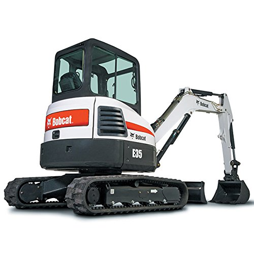 Bobcat Mini Compact Excavator E35 Die Cast Toy Scale 1:50