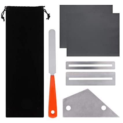 Stringed Instruments Guitar Parts & Accessories Repairing Fingerboard Protectors Guitar File Set Luthier Fret Rocker Cleaning Polish Tools Stainless Steel Electric Grinding Up-To-Date Styling