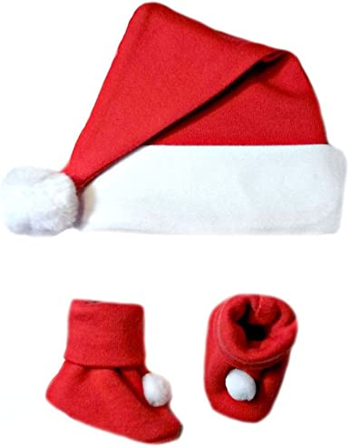 Baby Santa Christmas Hat 3-6 Months