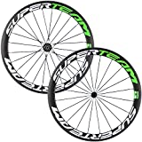 Superteam Carbon Fiber Road Bike Wheels