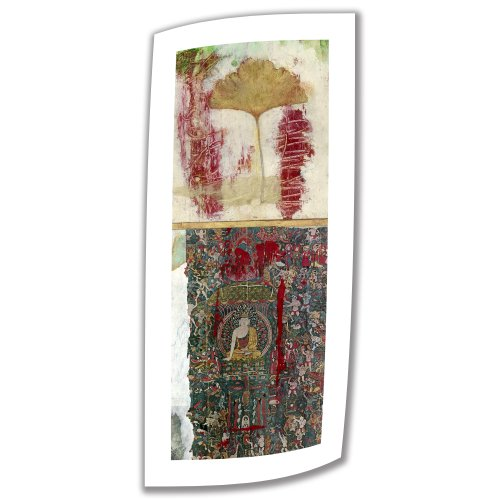 Art Wall Medicine Buddha-2 Gallery Wrapped Canvas Art by Elena Ray, 36 by 14-Inch