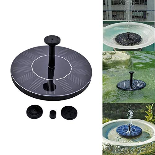 Automatic Plant Watering – 7v Floating Water Pump Solar Panel Garden Plants Watering Power Fountain Pool Automatical Party – Automatic Ceramic Plants System Bowl Globes Pets Cats Trough