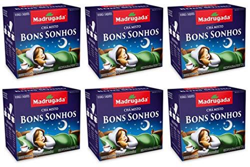 Chá Misto Bons Sonhos Madrugada 6 Un x 10 Saches x 1,3g
