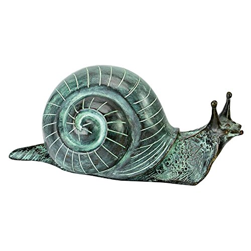 Design Toscano Bronze Snails Garden Statue: Medium
