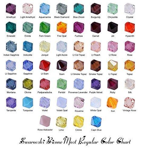 Wholesale Lot 100 pcs Bicone 6mm 5328 Swarovski Crystal. You Pick Colors!