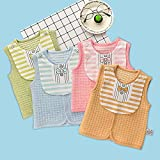 luyusbaby Baby Cotton Warm Vests Unisex Infant to