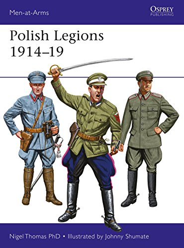 Polish Legions 1914–19 (Men-at-Arms)