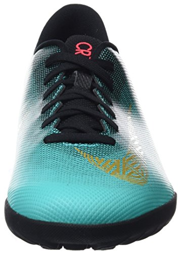 Black Clear Adulte Vivid Jade Football Club de Nike Cr7 Mtlc Mixte Chaussures Vert Vaporx Gold 12 390 TF HxqA4a
