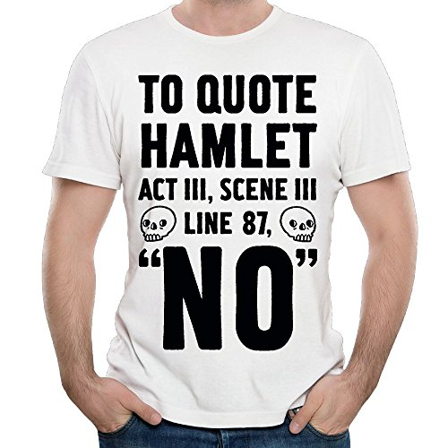 WYF Mens T-Shirts-Vintage to Quote Hamlet Act III, Scene III Line 87, No White 3X