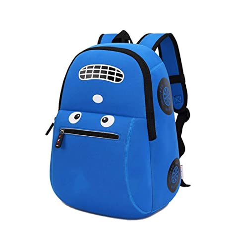 3ebf32e4a913 Amazon.com: AHWZ 3D Cartoon School Bag Cartoon Car Backpack Children ...