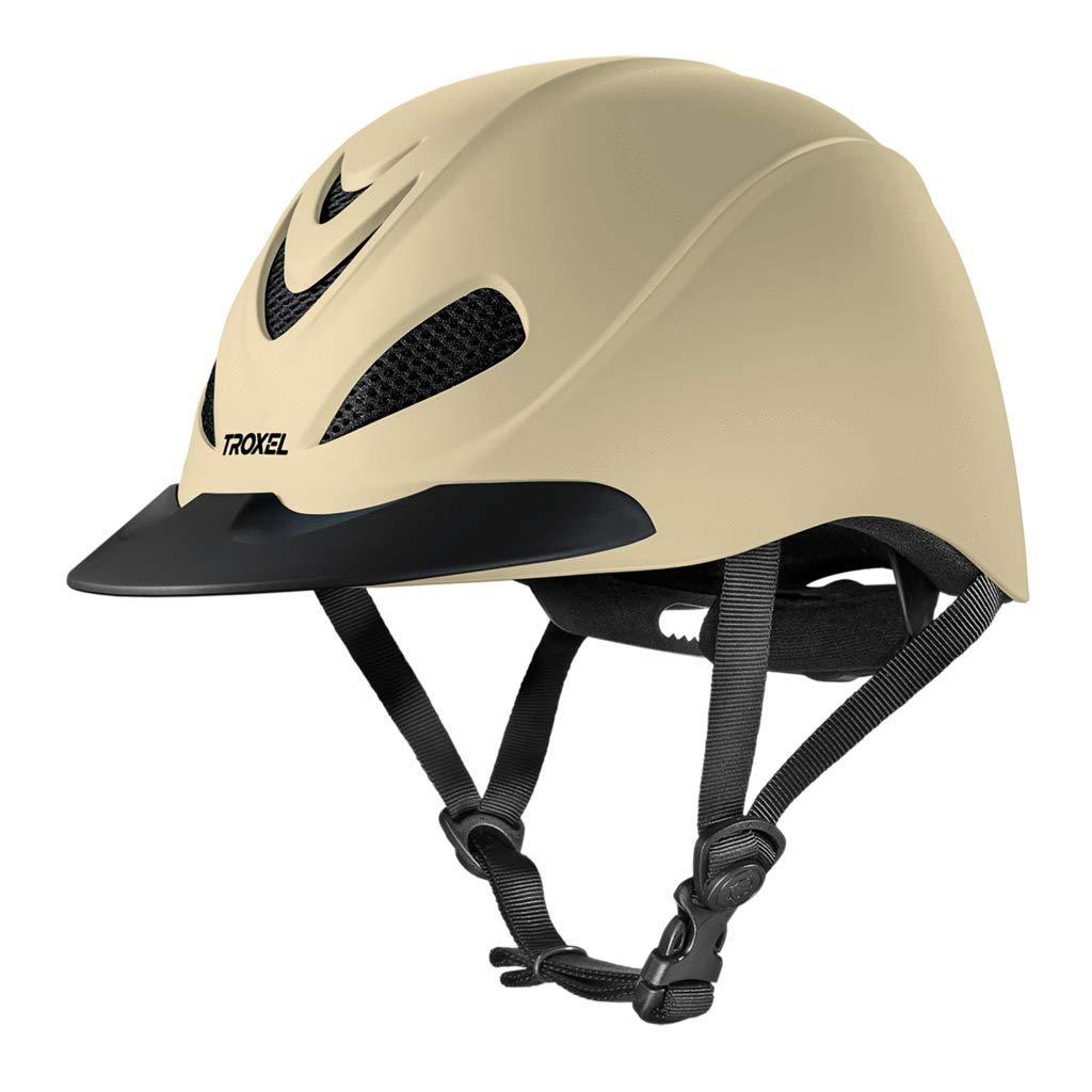 Troxel Liberty Tan Duratec乗馬用ヘルメット低プロファイル調節可能(中)   B07FBTW1H6