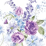 Creative Converting Happy Easter Lunch Napkins with Lilac Blossoms Design, 16 Per Package
