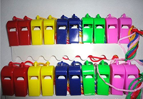 plastic whistle pack - 7