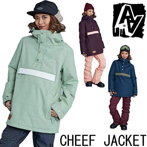 ダブルエー 19-20 レディース ウェアー (CHEEF JACKET)チーフ ジャケット スノーボード SNOW WEAR (黒) (M)