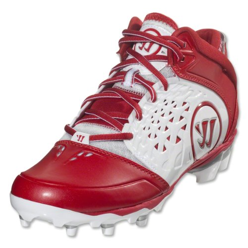 view for sale cheap best store to get Warrior Adonis Men's Lacrosse Cleats White/Red d6ZKdm