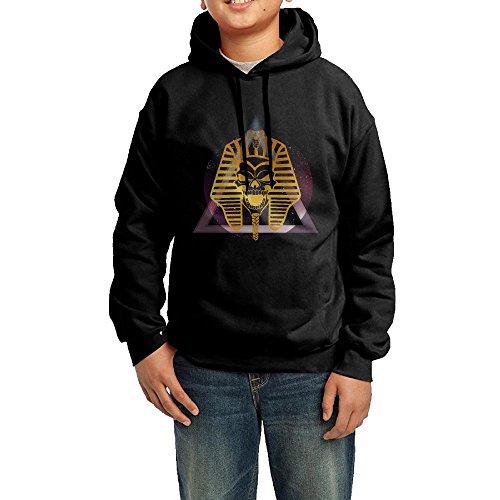 Pharaoh Skull Of Ancient Egypt Mythology Toddler Hoodies Pullover Hooded Sweatshirts ()