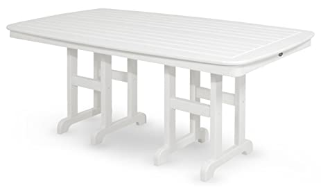 Trex Outdoor Furniture TXNCT3772CW Yacht Club Dining Table, 37 By 72 Inch,  Classic