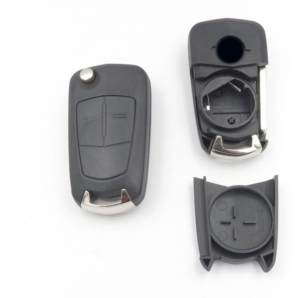 Gankmachine Obbligazioni 2 Chiavi della Macchina Shell Compatibile con Remote Shell Chiavi Chiavi della Macchina Shell Auto Parts durevoli