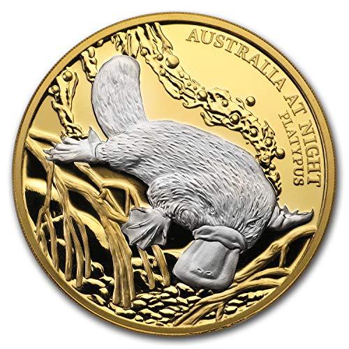 2019 DE Niue 1 oz Gold Proof Australia at Night (Platypus) 1 OZ Brilliant Uncirculated