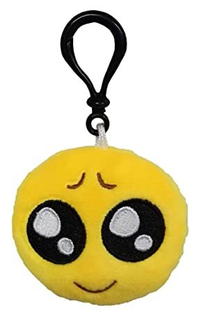 Amazoncom Xiang Ru Novelty Emoji Cushion Keyrings Keychain For