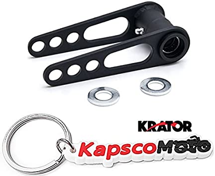 KapscoMoto Keychain KFX 450R ATV Rear Lowering Kit 3.5 Lower Suspension Link Krator ATV Rear Lowering Kit 3.5 Lower Suspension for Kawasaki KFX450R