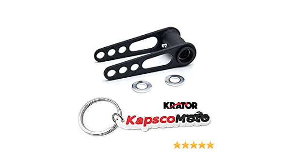 "ATV Rear Lowering Kit 4/"" Lower Link For Yamaha Raptor 700 All Years"