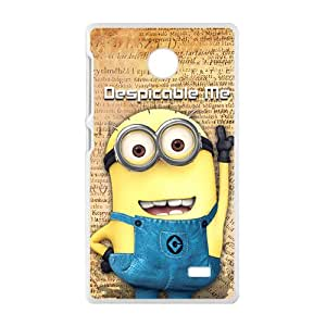 Lovely Minions Cell Phone Case for Nokia Lumia X