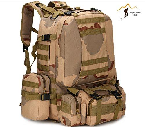 Jungle 50L zaino da uomo  s grande borse da viaggio mimetico borsa zaino  tasche Wild f62603f9daf