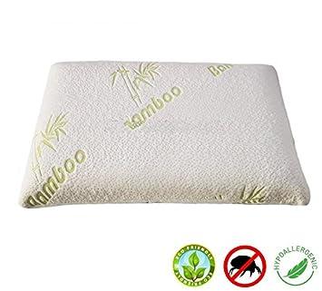 Almohadas para dormir/molde de bambú de espuma con efecto memoria almohada cervical (no