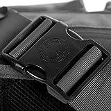 Herschel Eighteen Waist Pack, Black, 6.0L