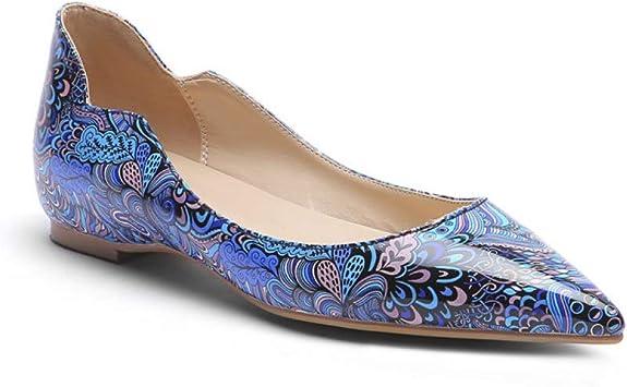 bredLily Sexy Pointed Toe Flats