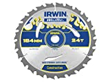 Irwin Tools - Weldtec Circular Saw Blade 184 x 16mm x 24T ATB