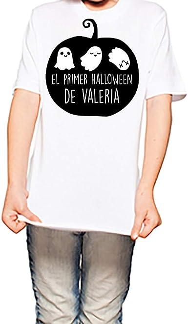 Regalo Personalizado: Camiseta de Halloween para niño o niña ...