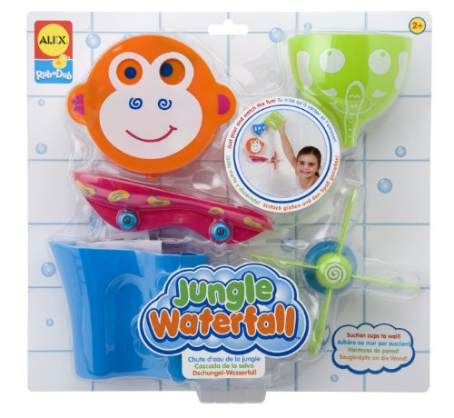 ALEX Toys Rub a Dub Jungle Waterfall, color may vary