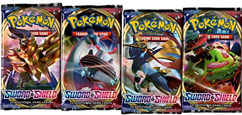 Pokemon Sword & Shield Booster Pack - SWSH1 - Single Pack (10 Cards)