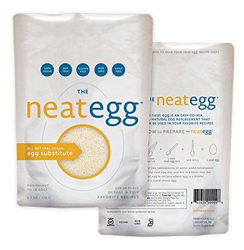 Neat Egg Mix Vegan Egg Substitute 4.5 Oz (12 Pack)
